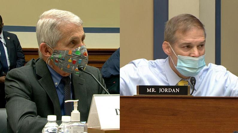 听证会上再次激烈交锋 福契与共和党议员大声互呛数分钟
