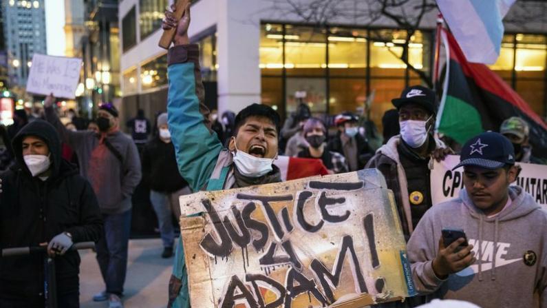 不满警方执法暴力 全美各地集会抗议不断