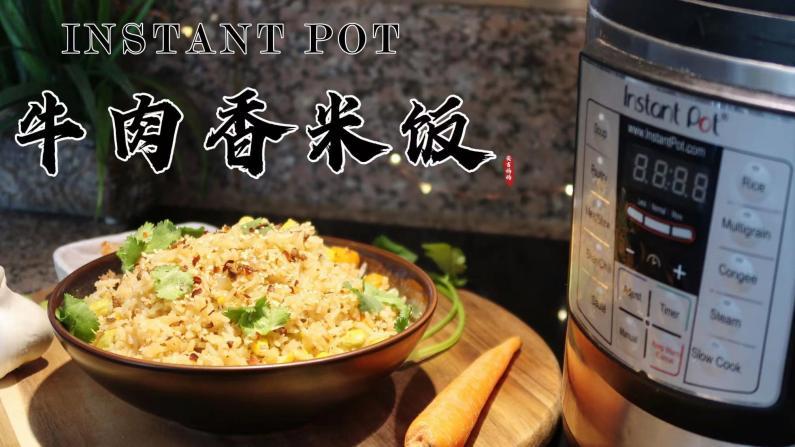 【一家四口的晚餐】一锅炖的快手晚饭:牛肉香米饭