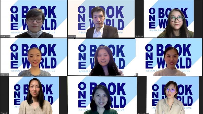 """芝加哥华人发起捐书运动 """"一书一视界""""走进中小学"""