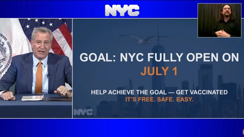 纽约市宣布7/1起完全重开 州长库默:希望还能更早