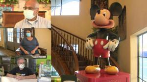 加州迪士尼乐园今重开 游客商家:迫不及待!
