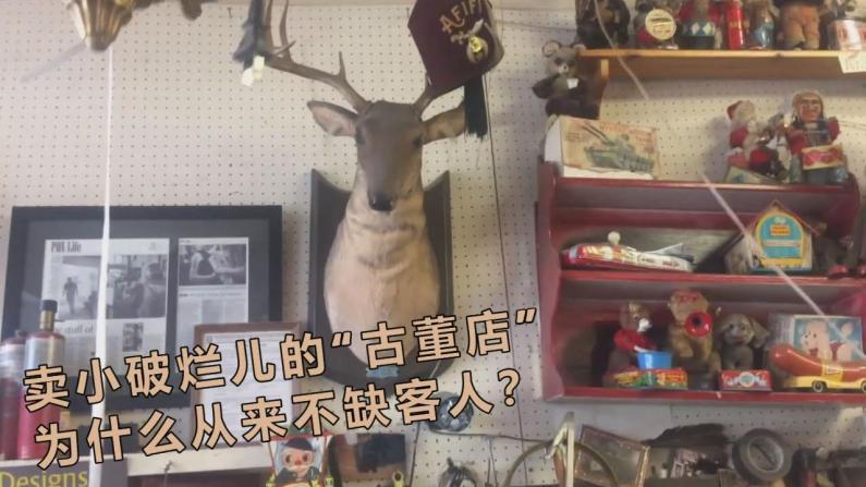 【E家人】美国古董店 做的到底是什么生意?