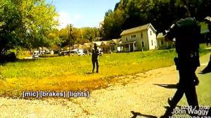 西维州警方公开涉枪击执法录像 嫌犯持械威胁:杀了我吧