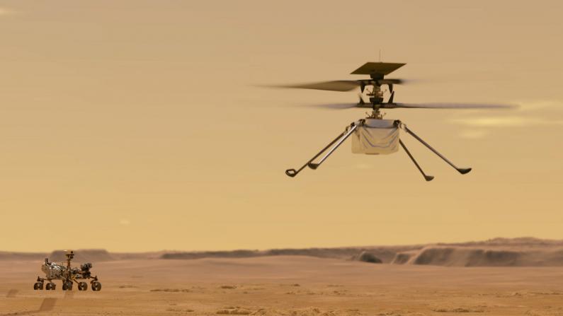 """创历史!""""毅力号""""火星探测器收录""""机智号""""起飞声音公布"""