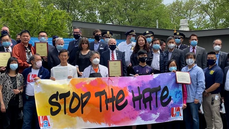 纽约8大道警民同庆亚裔传统月 民选官员:攻击亚裔等于攻击所有人