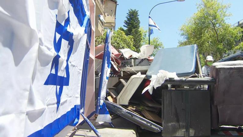 冲突之下满目疮痍财产尽失 以色列居民:我只希望一切停止