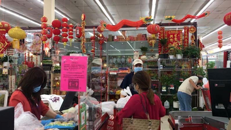 麻州华人超市计划放松口罩规定 顾客:还是会戴口罩去超市