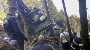13人死亡!意大利北部高山缆车发生坠落事故