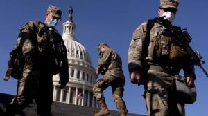 结束保护国会任务 国民警卫队开始撤离