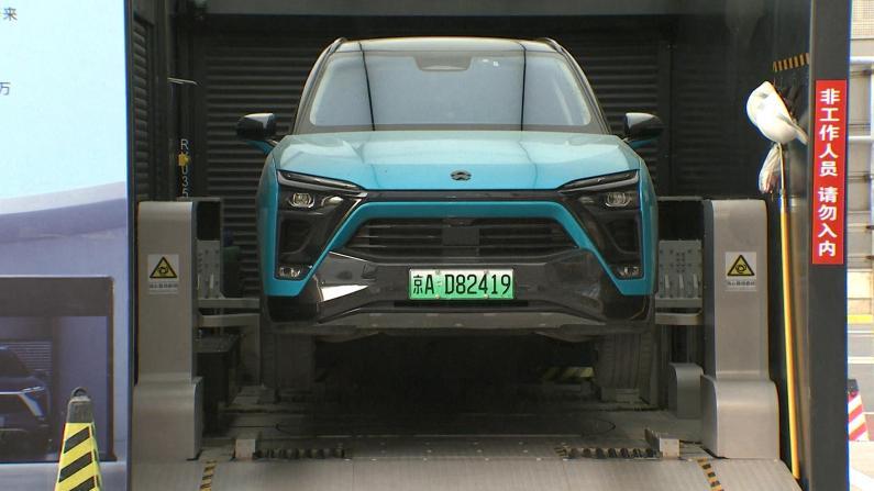 """换电池仅需2分钟 中国推广""""车电分离""""新能源车"""