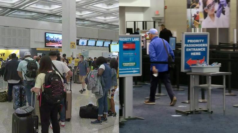 国殇日假期出行:休斯敦机场大排长龙 密尔沃基冷冷清清