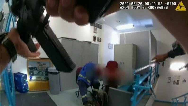 犹如大片!加州大规模枪击执法录像公开 警方接警10分钟内锁定嫌犯