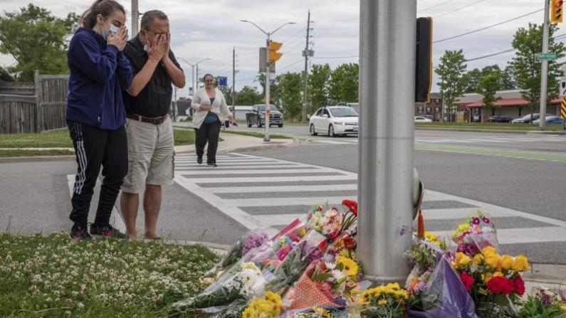 加拿大发生种族袭击事件 穆斯林一家五口几乎灭门