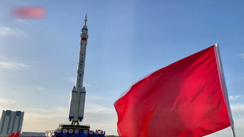神舟十二号飞船就位 将送3名航天员入空间站