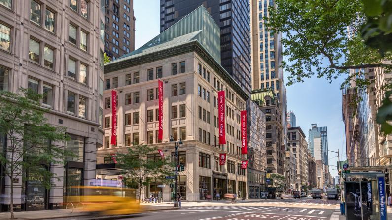 纽约公共图书馆最大分馆重开换新颜 中文内容大增
