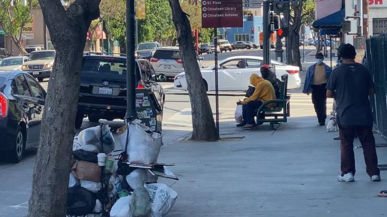 """游民""""占领""""洛杉矶中国城 商家苦不堪言"""