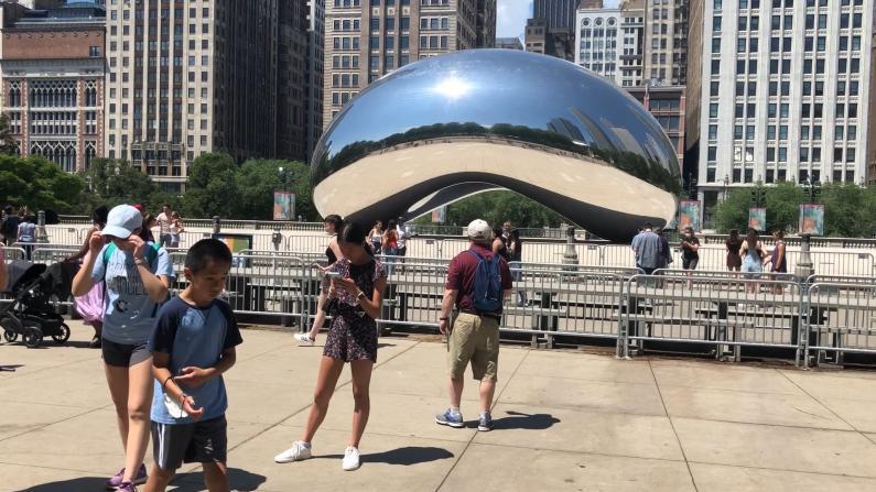 【实拍】芝加哥全面开放第一天