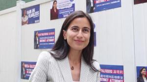 打击仇恨犯罪、修改司法改革 纽约曼哈顿地检参选人温塔莉谈竞选主张