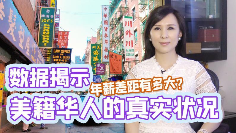 【谭天说地】数据揭示美籍华人的真实状况 年薪收入差距有多大?