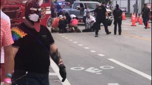佛州骄傲游行车祸致一死一伤 意外还是有针对性?动机仍成迷