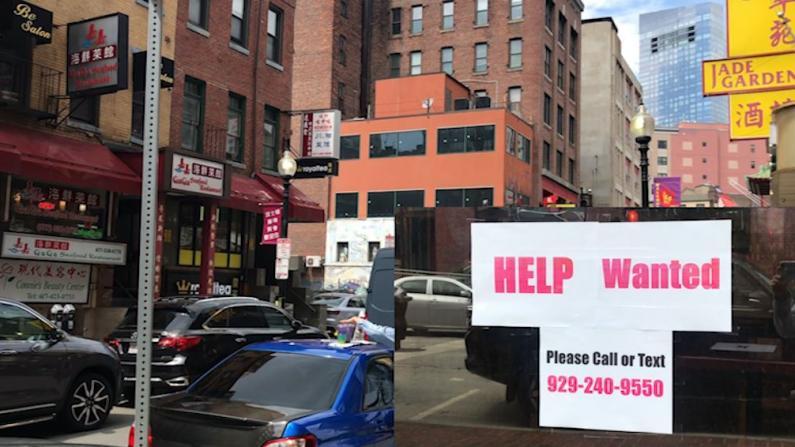 麻州全面重开 波士顿华埠中餐馆却面临招工难…