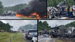 阿拉巴马惨烈车祸9儿童1成人死亡 风暴袭击还是另有原因?