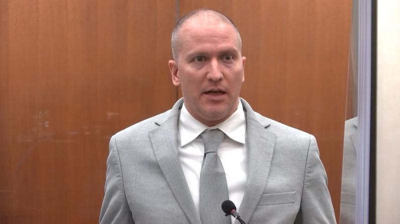 【现场】被判22年半徒刑 他在庭上对弗洛伊德家人说了这些