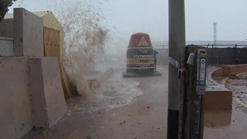 热带风暴艾尔莎登陆 佛州北部多地狂风暴雨