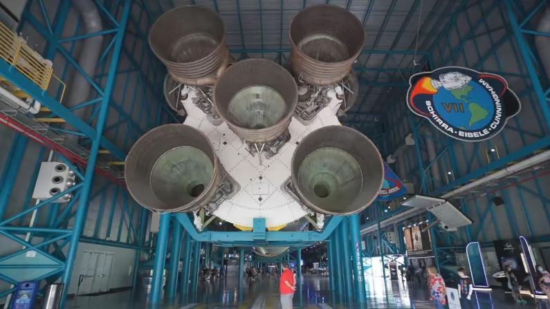 【佛州生活】带你看人类历史上最传奇火箭 54年后仍然震撼