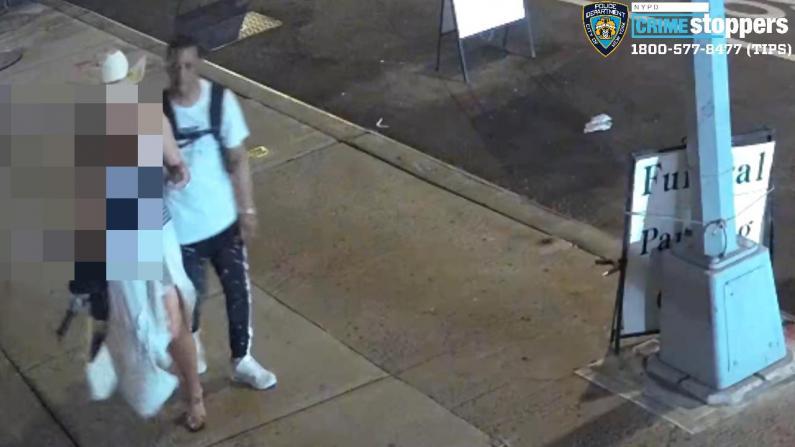 性骚扰后又抢走钱包 女游客纽约华埠当街遇袭受伤