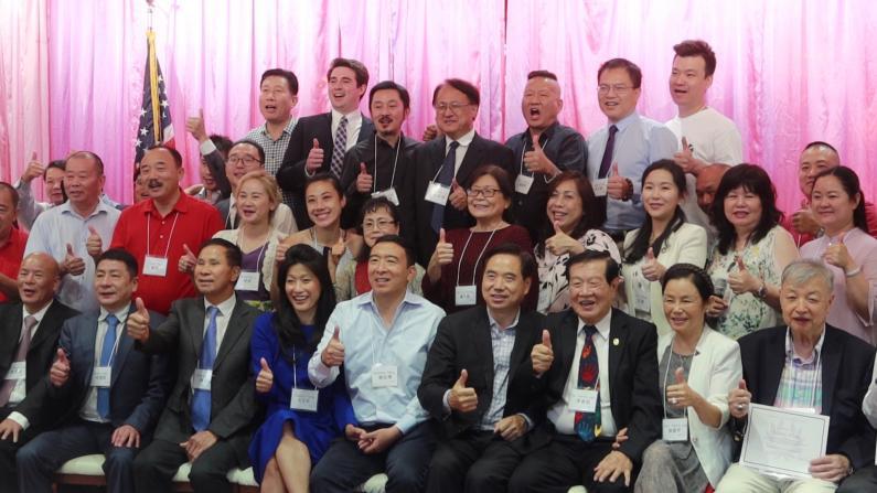 杨安泽感谢社区:参选市长创多项纪录 将出书讲述总统竞选心得