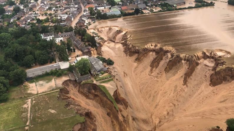 德国比利时灾难性洪水致百余人死亡 数千人失踪、无家可归