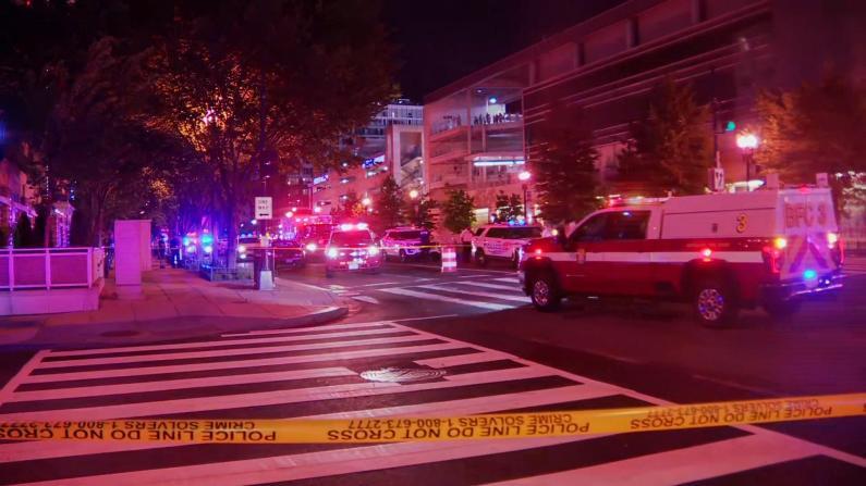 DC国家球场外枪响三人受伤 球迷惊慌逃跑