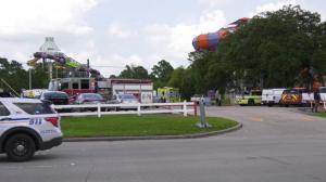 休斯敦六旗水上乐园化学品泄漏 数十人呼吸困难