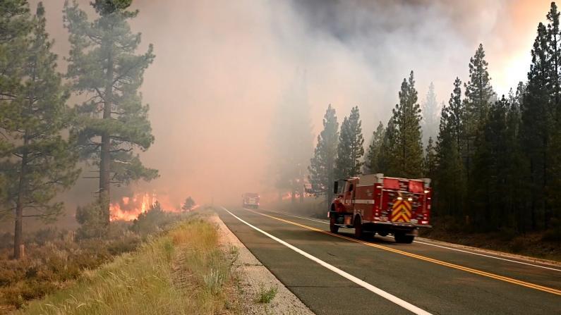 山火季到 加州连爆发多场大火