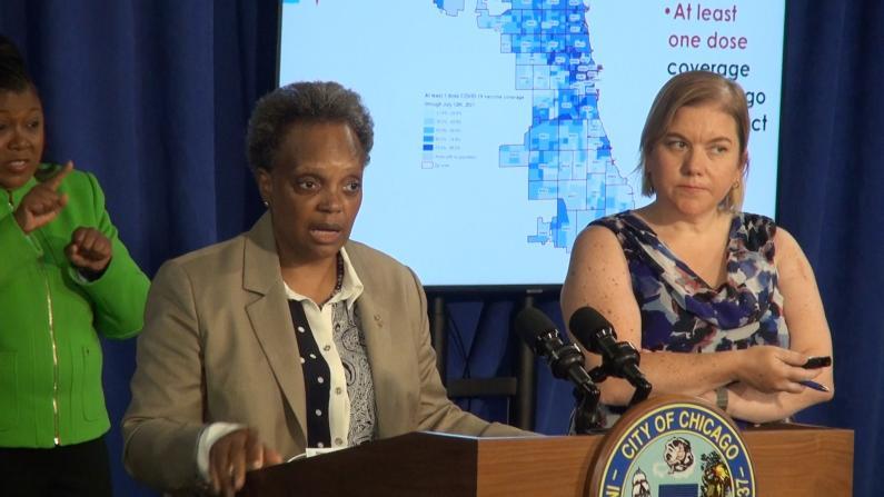 芝加哥新冠日确诊数增加 市长:可能会恢复限制