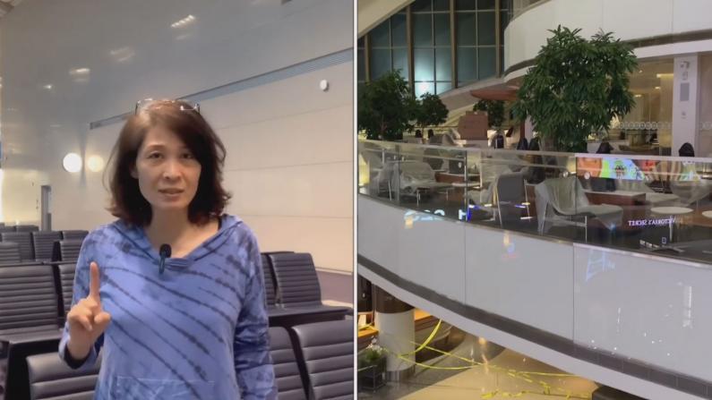 【好奇婆婆】洛杉矶机场现况 和几个月前有什么不同?