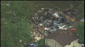 夷为平地!明州一民宅发生爆炸致1死2伤