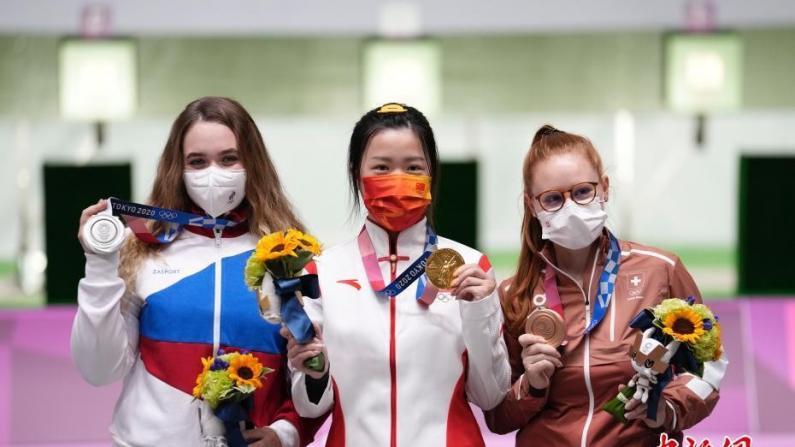 奥运中国首金得主杨倩:奥运后将重返校园 想吃妈妈做的油焖大虾
