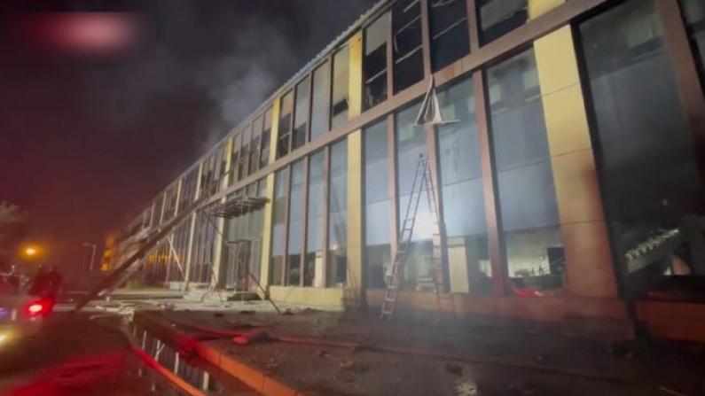 吉林长春一物流仓库发生火灾 已致14死26伤