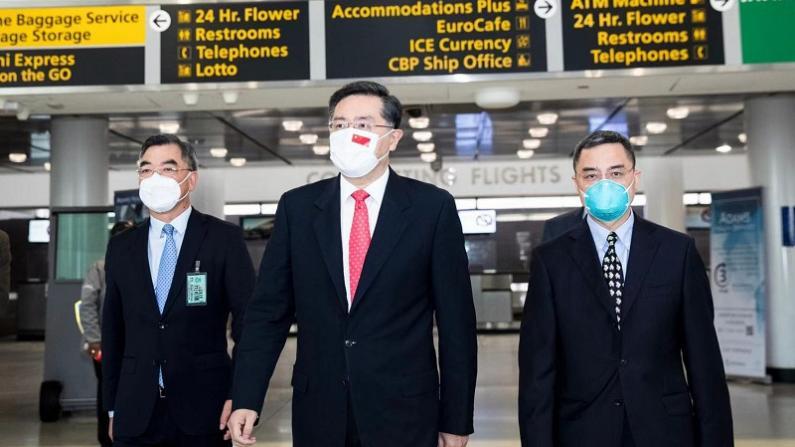 中国驻美大使秦刚抵美履新:期待即将到来的时光