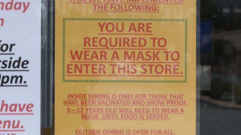 打疫苗才可室内就餐? 加州餐馆自发抗疫引讨论