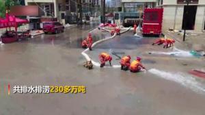 郑州中牟不分昼夜排水排涝 已排完230多万吨