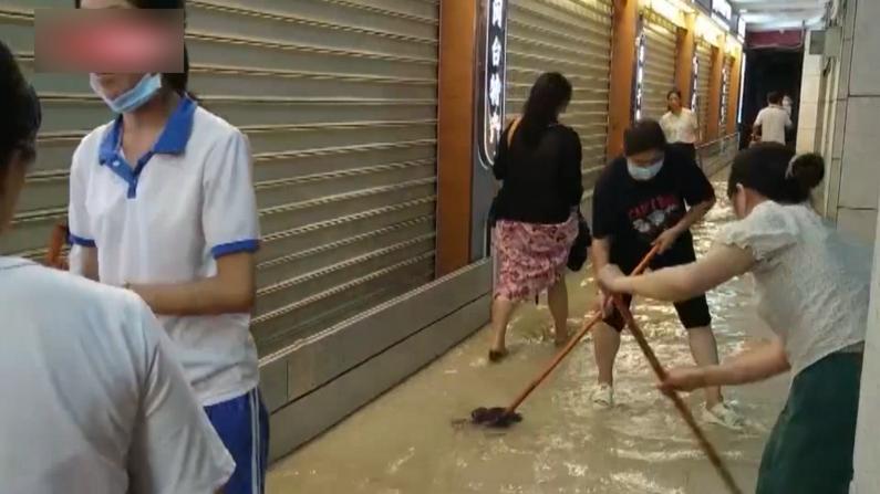厦门暴雨倾盆大水漫灌 启动一级应急响应