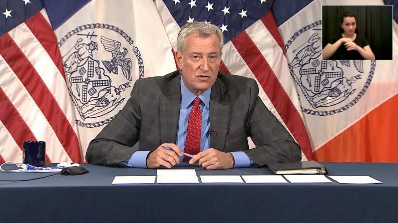 纽约市室内是否要戴口罩?市长这么说…