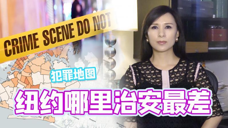 【谭天说地】纽约市犯罪地图 哪里治安最差?华裔社区治安现状