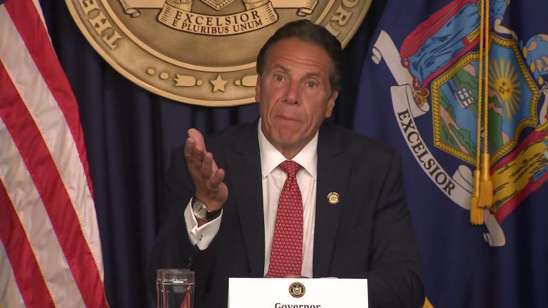 纽约州长库默喊话餐馆酒吧:只对打疫苗的顾客开放吧!