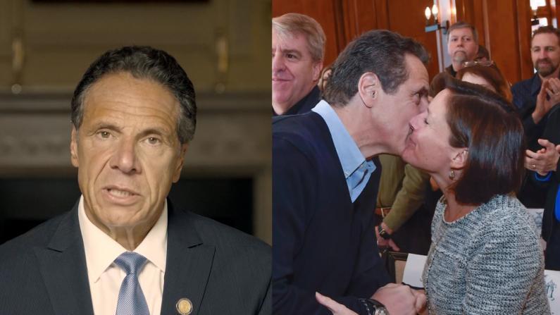 库默发视频为性骚扰指控自辩 特意插入这些照片