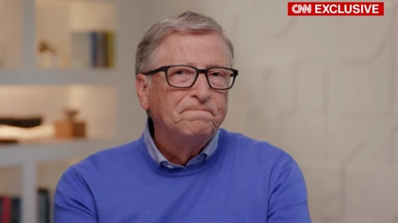 盖茨正式离婚后首发声:分手很悲伤 后悔与爱泼斯坦交往